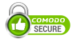 This site is secured with Comodo